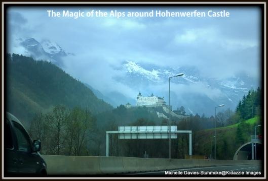 Hohenwerfen Castle in  Werfen Austria
