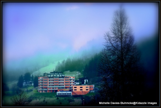 Bad Gastein on a Magical Foggy Morning