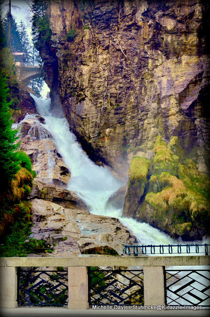 Enormous Waterfall Bad Gastein