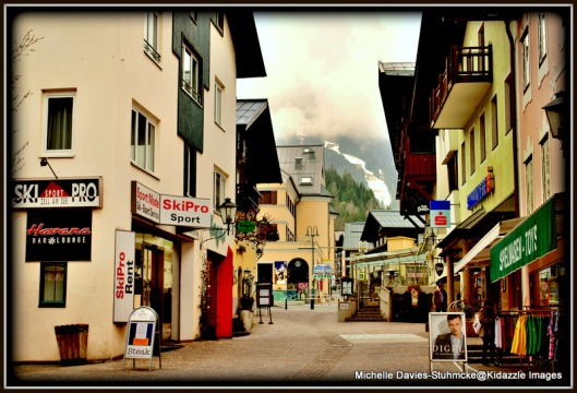 More of the Alstadt in Zell Am See