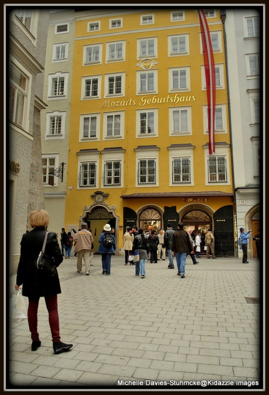 Mozart's birth place