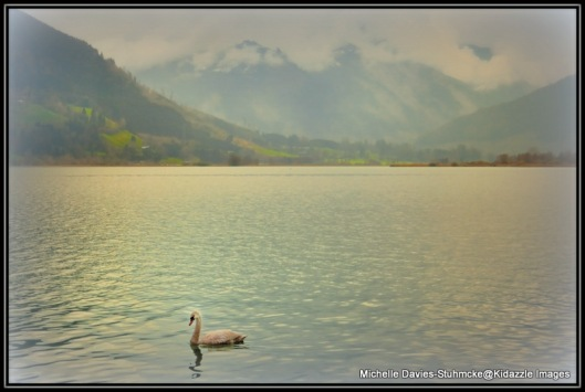 The intoxicatingly beautiful lake at Zell Am See