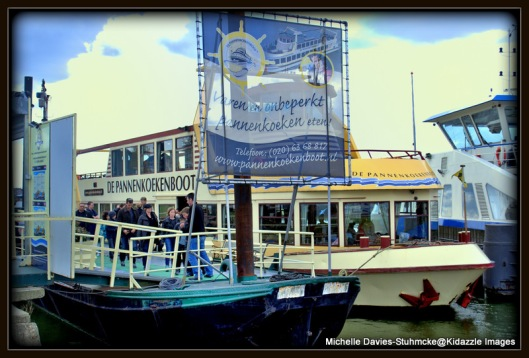 Amsterdam Pancake Boat -Yummy