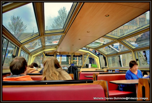 Hop on Hop off Canal Boat Amsterdam