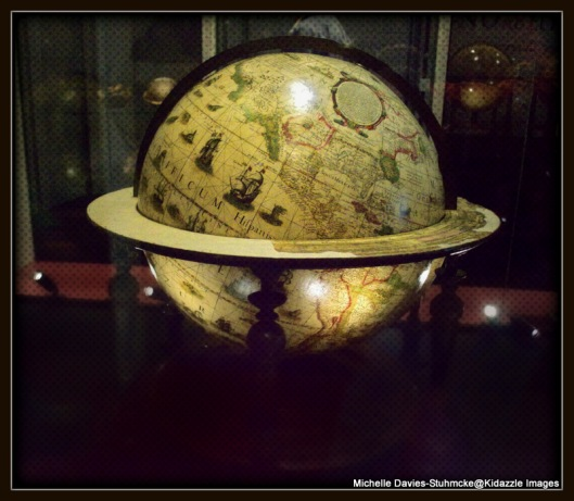Globe at National Maritime Museum