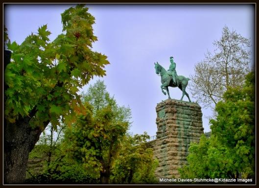 Kaiser Friedrich III Equestrian Statue Cologne