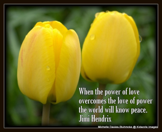 Peace Quote by Jimi Hendrix