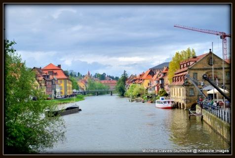 Regnitz River, Bamberg.