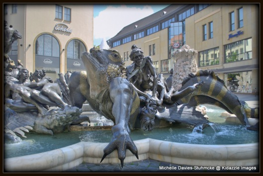 Fountain, Carousel of Marriage, Nuremberg
