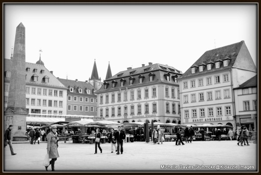 The Market Square, Wurzburg.
