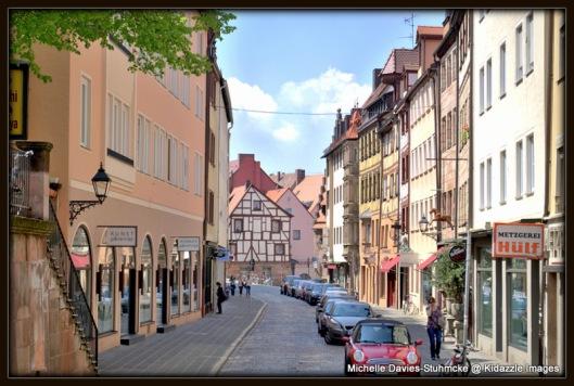Architectural mix in Nuremberg Street