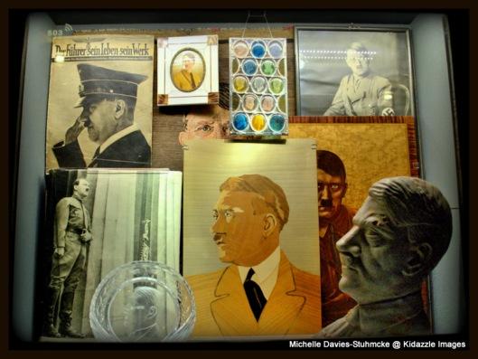 Historical photographs, Nuremberg Museum, Germany.