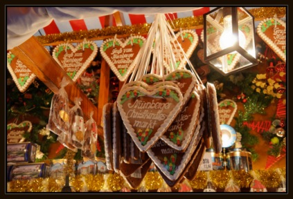 Gingerbread, Christmas Markets Nuremberg
