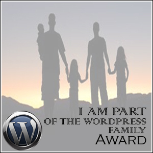 Word Press Family Award