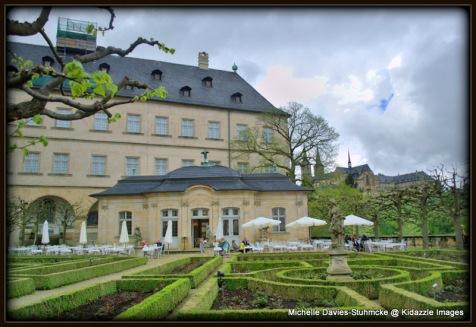 The Residence, and Formal Garden, Bamberg.