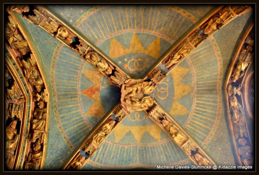 Ceiling shot in Cathedral of Our Lady, Nuremberg