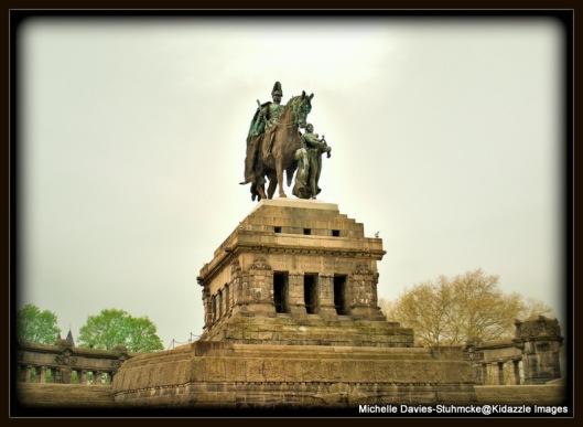German Corner in Koblenz Germany