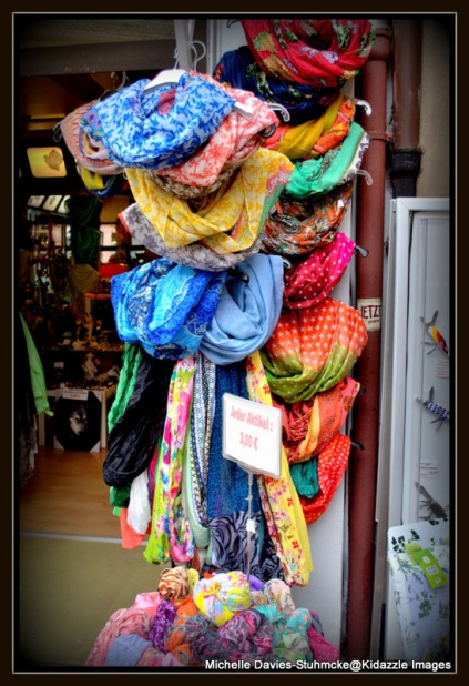 Scarf shopping Miltenberg, Germany