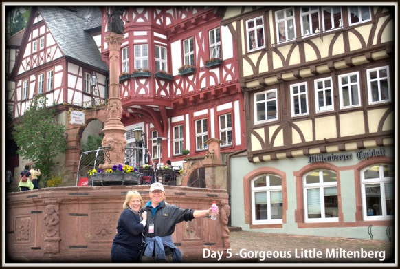 D.B. and I in Miltenberg, Germany