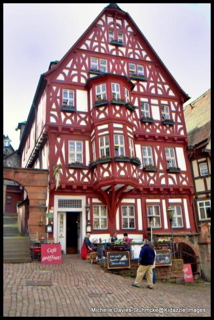 Fachwerk Architectural Style, Miltenberg, Germany