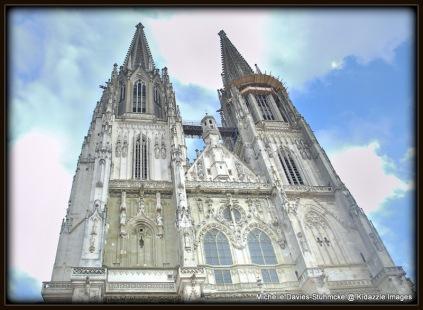 St Peter's Dom, Regensburg, Germany.