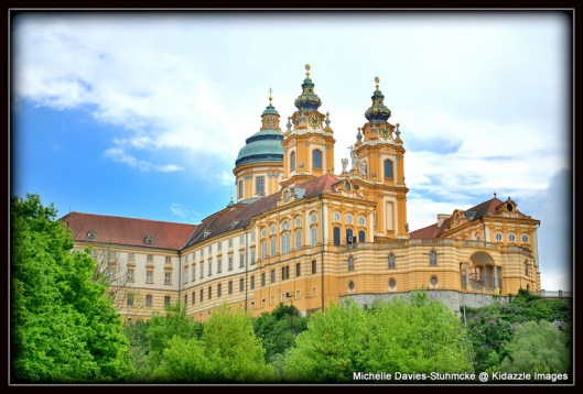 Magnificent Melk Abbey, Austria.
