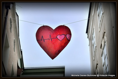 Love heart banner, Passau Germany 2013 #2
