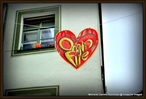 Love heart banner, Passau  Germany 2013 #7