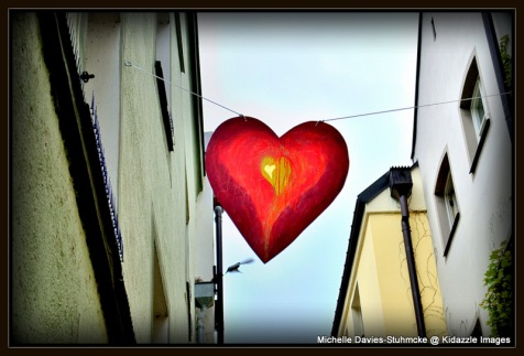 Love heart banner, Passau  Germany 2013 #4