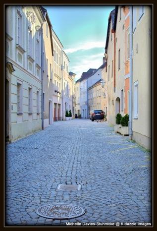 Cobble Stone Streets, Krems, Austria.
