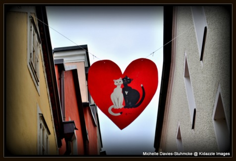 Love heart banner, Passau  Germany 2013 #1