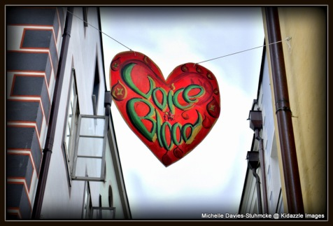 Love heart banner, Passau  Germany 2013 #11