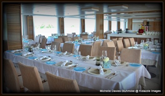 Dining Room onboard Viking Tor.