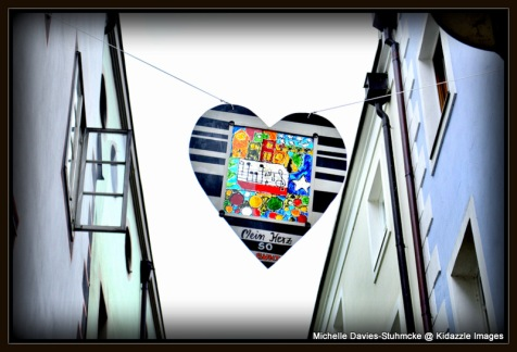 Love heart banner, Passau  Germany 2013 #3