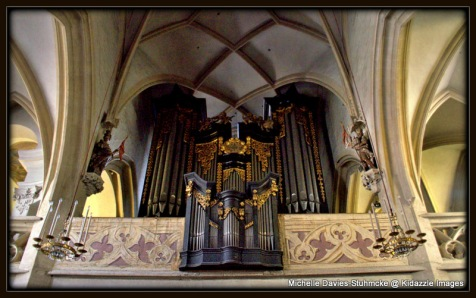The Organ, St Vitus Church, Krems, Austria.