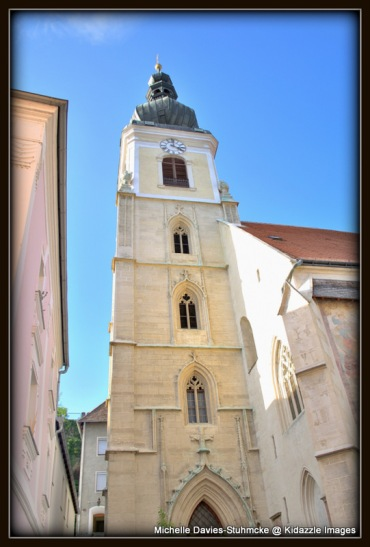 The Exterior of the Parish  Church of St Vitus, Krems, Austria.