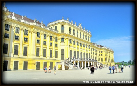 The Magical Schonbrunn Palace, Vienna.
