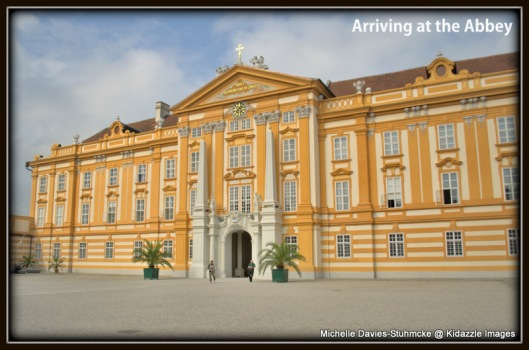 Exterior of Melk Abbey, Austria