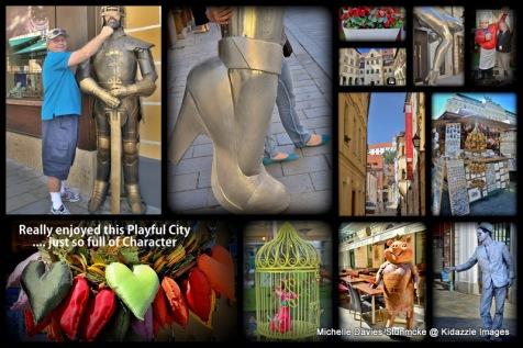 Bratislava Slovakia, a city with a sense  of fun.