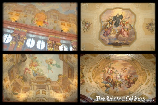 The Painted Ceilings, Melk Abbey, Austria.