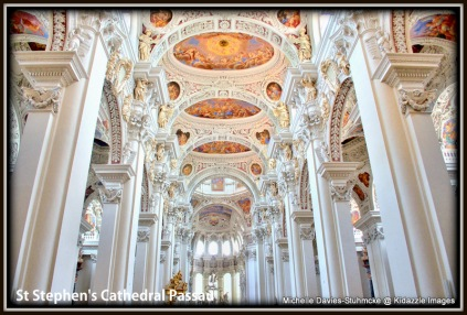 Beautiful Interior, St Stephen's Passau, Germany