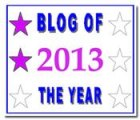 Blog of the Year 2013 -2star