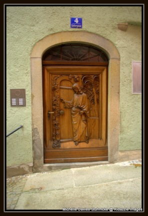 Interesting doorway Passau, Germany.