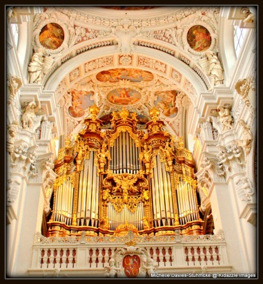 One part of the organ, St Stephen's Passau, Germany