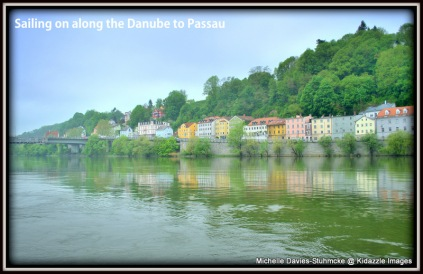 Sailing down the Danube to