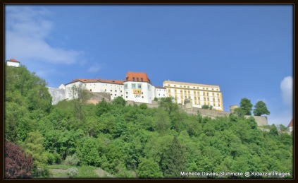 Veste Orberhaus, Fortrees on  the Hill, Passau, Germany