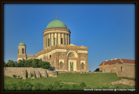 Esztergom  Cathedral from a different perspective.
