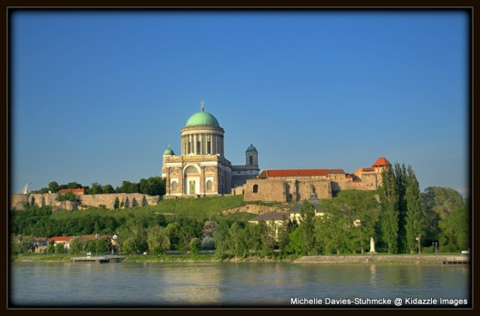 Esztergom Catholic Cathedral on the Danube