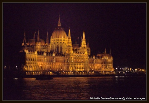 An Architectural Wonder, Parliament House, Budapest, Hungary.