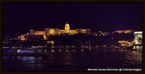 One more shot of the Castle, Budapest, Hungary.